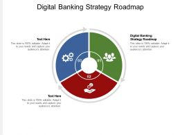 Digital Banking Strategy Roadmap Ppt Powerpoint Presentation Infographic Template Templates Cpb