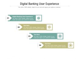 Digital Banking User Experience Ppt Powerpoint Presentation Portfolio Rules Cpb