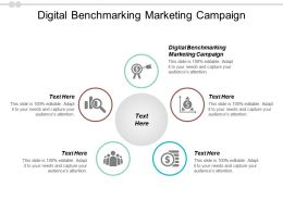 Digital Benchmarking Marketing Campaign Ppt Powerpoint Presentation File Layout Ideas Cpb