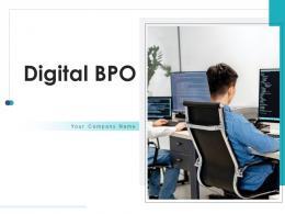 Digital BPO Business Strategy Managing Organizational Social Media