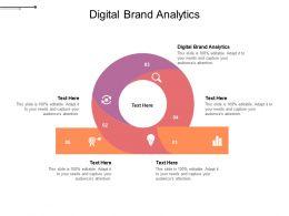 Digital Brand Analytics Ppt Powerpoint Presentation Gallery Slides Cpb