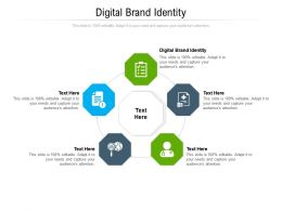 Digital Brand Identity Ppt Powerpoint Presentation Model Slide Cpb
