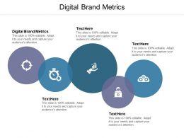 Digital Brand Metrics Ppt Powerpoint Presentation Summary Sample Cpb