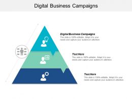 Digital Business Campaigns Ppt Powerpoint Presentation File Skills Cpb