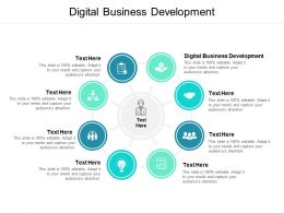 Digital Business Development Ppt Powerpoint Presentation Visual Aids Cpb