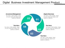Digital Business Investment Management Product Position Marketing Analysis Tool Cpb