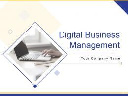 Digital Business Management Powerpoint Presentation Slides