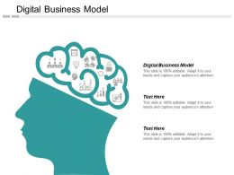 Digital Business Model Ppt Powerpoint Presentation Inspiration Slides Cpb