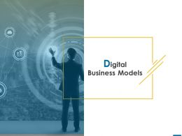 Digital Business Models Business Ppt Powerpoint Presentation Pictures