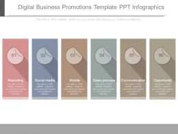 Digital Business Promotions Template Ppt Infographics