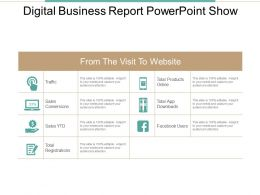 Digital Business Report Powerpoint Show