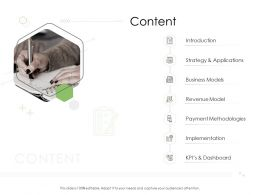 Digital Business Strategy Content Ppt Powerpoint Presentation File Microsoft