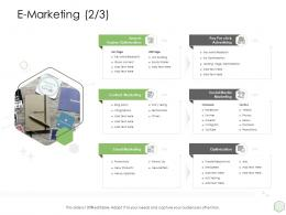 Digital Business Strategy E Marketing Optimization Ppt Powerpoint Background Images