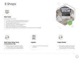 Digital Business Strategy E Shops Ppt Powerpoint Presentation Slides Introduction