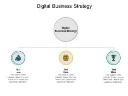 Digital Business Strategy Ppt Powerpoint Presentation Summary Portfolio Cpb