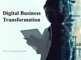 Digital Business Transformation Powerpoint Presentation Slides