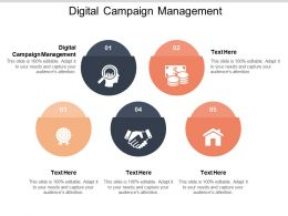 Digital Campaign Management Ppt Powerpoint Presentation Infographic Template Styles Cpb