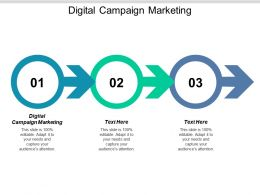 Digital Campaign Marketing Ppt Powerpoint Presentation Icon Display Cpb