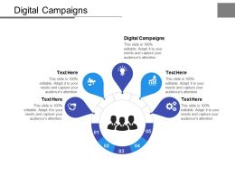 Digital Campaigns Ppt Powerpoint Presentation Slides Layout Cpb