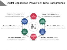 Digital Capabilities Powerpoint Slide Backgrounds