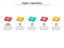 Digital Capabilities Ppt Powerpoint Presentation Show Mockup Cpb