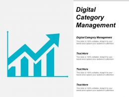 Digital Category Management Ppt Powerpoint Presentation Gallery Graphics Pictures Cpb