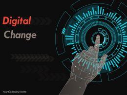 Digital Change Powerpoint Presentation Slides