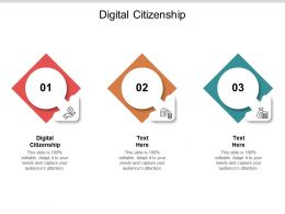 Digital Citizenship Ppt Powerpoint Presentation Layouts Skills Cpb