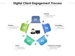Digital Client Engagement Process