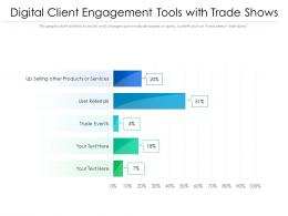 Digital Client Engagement Tools With Trade Shows