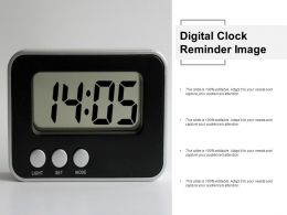 Digital Clock Reminder Image