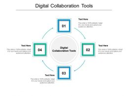 Digital Collaboration Tools Ppt Powerpoint Presentation Ideas Picture Cpb
