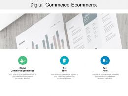 Digital Commerce Ecommerce Ppt Powerpoint Presentation Styles Grid Cpb