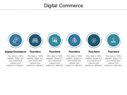 Digital Commerce Ppt Powerpoint Presentation Icon Example Introduction Cpb