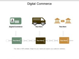 Digital Commerce Ppt Powerpoint Presentation Infographic Template Templates Cpb