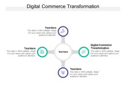 Digital Commerce Transformation Ppt Powerpoint Layouts Themes Cpb