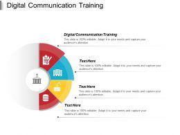 Digital Communication Training Ppt Powerpoint Presentation Portfolio Infographics Cpb