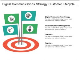 Digital Communications Strategy Customer Lifecycle Management Multi Channel Business Cpb