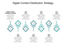 Digital Content Distribution Strategy Ppt Powerpoint Presentation Inspiration Cpb