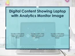 Digital Content Showing Laptop With Analytics Monitor Image