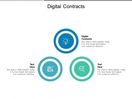 Digital Contracts Ppt Powerpoint Presentation Summary Sample Cpb
