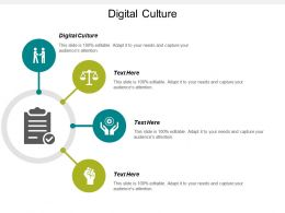 Digital Culture Ppt Powerpoint Presentation Icon Graphics Cpb