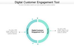Digital Customer Engagement Tool Ppt Powerpoint Presentation Show Influencers Cpb