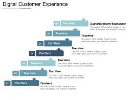 Digital Customer Experience Ppt Powerpoint Presentation Pictures Layout Ideas Cpb
