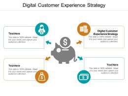 Digital Customer Experience Strategy Ppt Powerpoint Presentation Model Master Slide Cpb