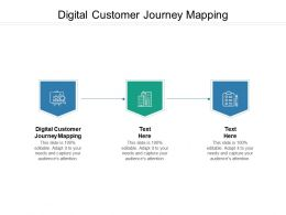 Digital Customer Journey Mapping Ppt Powerpoint Presentation Layouts Slide Portrait Cpb