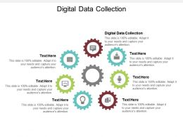 Digital Data Collection Ppt Powerpoint Presentation Inspiration Design Inspiration Cpb