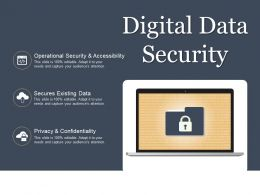 Digital Data Security Powerpoint Slide