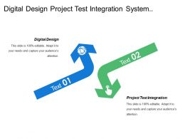 Digital Design Project Test Integration System Verification Validation
