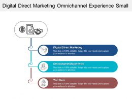 Digital Direct Marketing Omnichannel Experience Small Business Growth Cpb